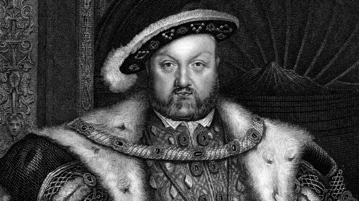 A portrait of King Henry VIII of England.