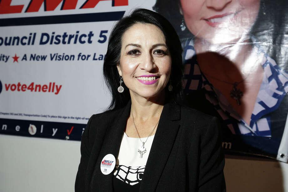 Nancy Vielma,District 5Term: November 2016 to November 2020Phone: 956-333-7100Email: vielmadistrictv@gmail.com Photo: Victor Strife/Laredo Morning Times