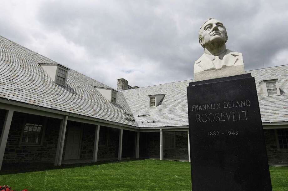 A view of the Franklin D. Roosevelt Presidential Library on Wednesday, June 12, 2013 in Hyde Park, NY. Photo: Paul Buckowski / Albany Times Union / ONLINE_YES