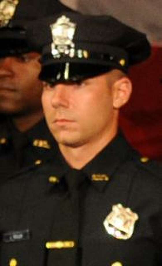 James Boulay, 30, who was sworn in as a police officer in the city in September after serving in the military, was the officer who fatally shot 15-year-old Jayson Negron on May 9. Photo: Brian A. Pounds / Hearst Connecticut Media / Connecticut Post