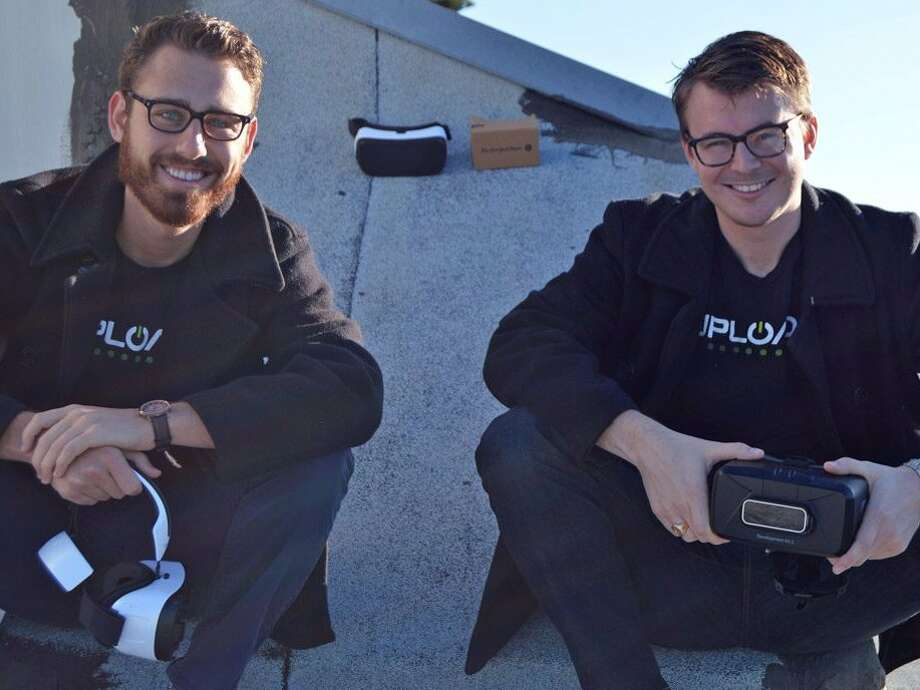 UploadVR CEO Taylor Freeman (left) and editor-in-chief Will Mason Photo: Business Insider