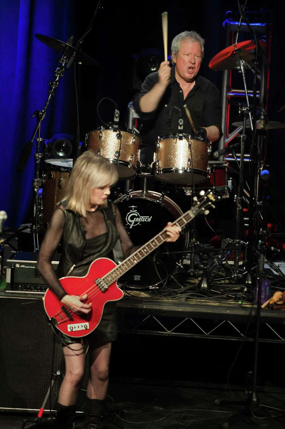 Founding members of the Talking Heads and Tom Tom Club, Chris Frantz and Tina Weymouth, will host a new Emerging Artists Series at the Fairfield Theatre Company.
