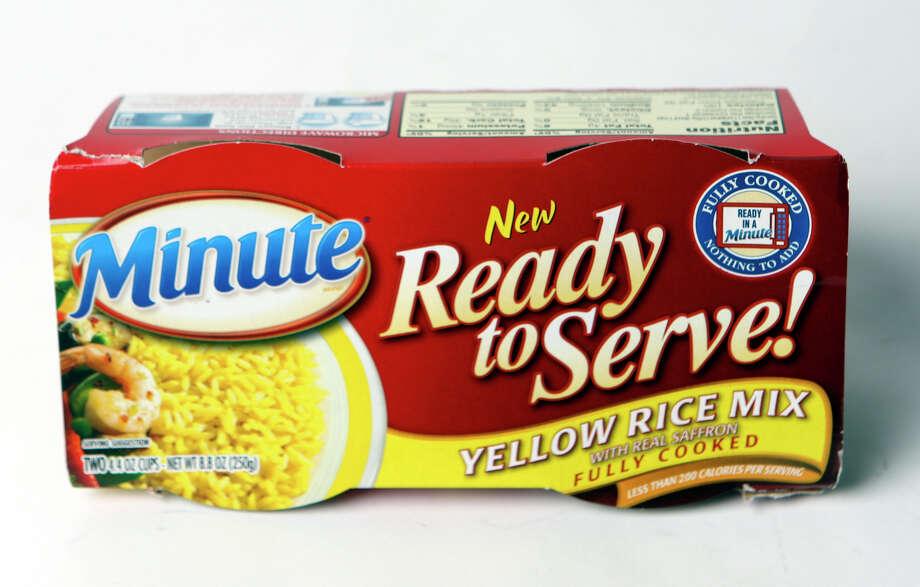 TASTE: Minute Rice Ready to Serve Yellow Rice Mix. Photo: HELEN L. MONTOYA, SAN ANTONIO EXPRESS-NEWS / hmontoya@express-news.net