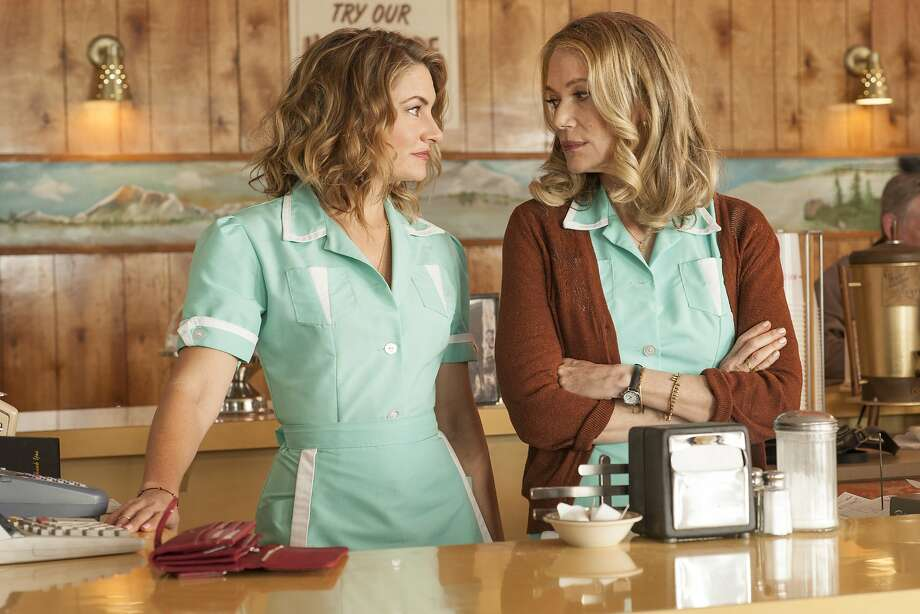 "This image released by Showtime shows Madchen Amick, left, and Peggy Lipton in a scene from ""Twin Peaks.""  Photo: Suzanne Tenner, Associated Press"