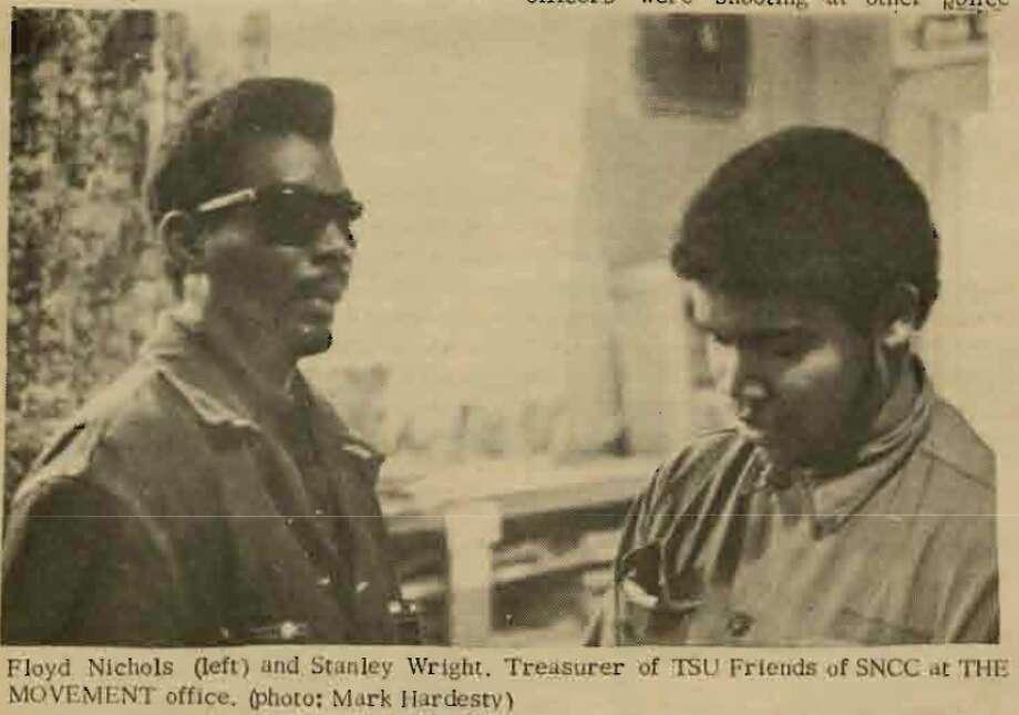 "Two of the ""TSU Five."" Photo: Via The Movement"