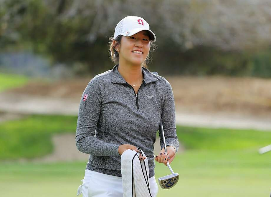 Stanford freshman Andrea Lee is the second- ranked women's college golfer in the nation. Photo: Photo Courtesy Stanford, Bob Drebin / Stanford Athletics