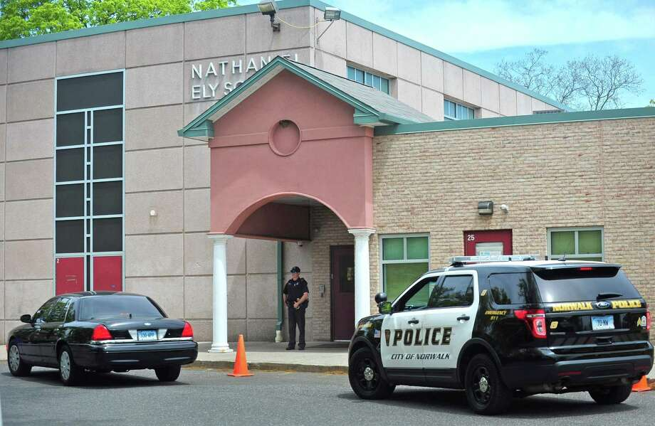 Nathaniel Ely School Tuesday on May 16, 2017, in Norwalk Photo: Erik Trautmann / Hearst Connecticut Media / Norwalk Hour