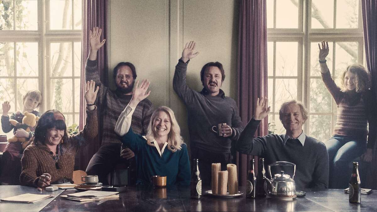 """A scene from Danish film """"The Commune,"""" directed by Thomas Vinterberg.� Individual actors not ID'd."""