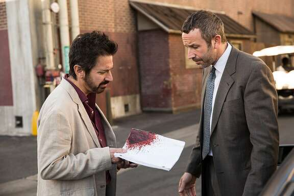 "Ray Romano and Chris O'Dowd in the forthcoming ""Get Shorty."""