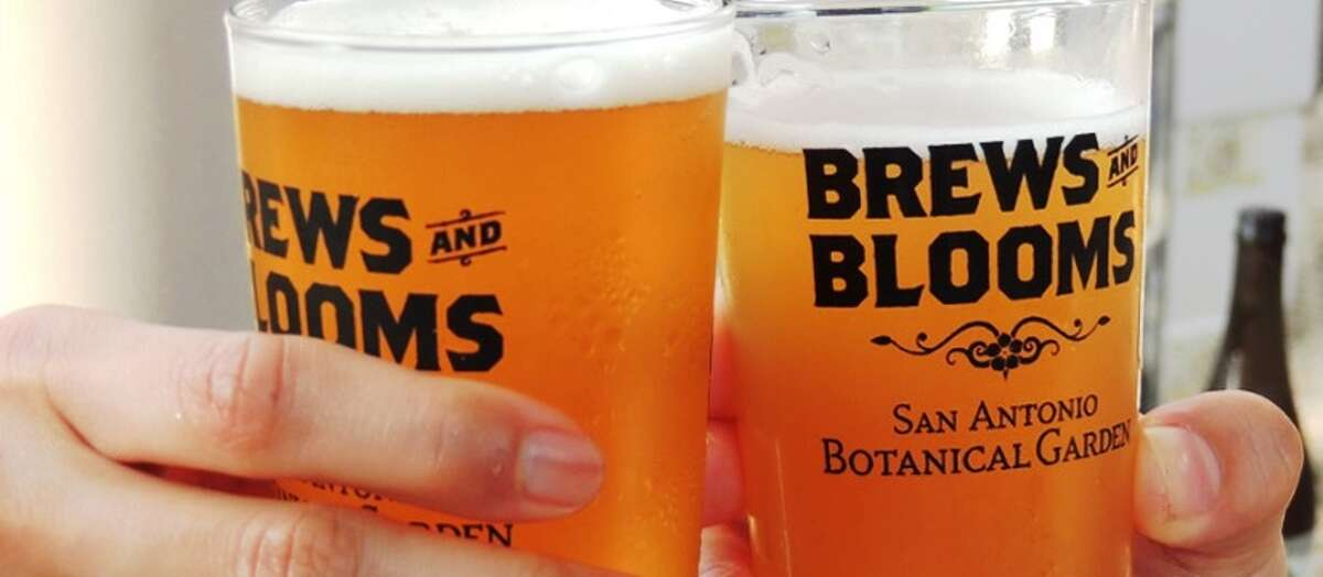 San Antonio Botanical Garden is hosting the fall edition of Brews and Blooms, which opens the garden for an evening of drinks and socialization. It will feature craft-brew sampling, food booths and live music. Tickets include drink tickets, a souvenir glass and garden admission. All ticket holders must be at least 21. 6 p.m. premium admission, 6:30-9:30 p.m. general admission, San Antonio Botanical Garden, 555 Funston Place. $30 general admission, $65 premium ($27 and $60 for members), $15 designated driver, sabot.org -- Polly Anna Rocha