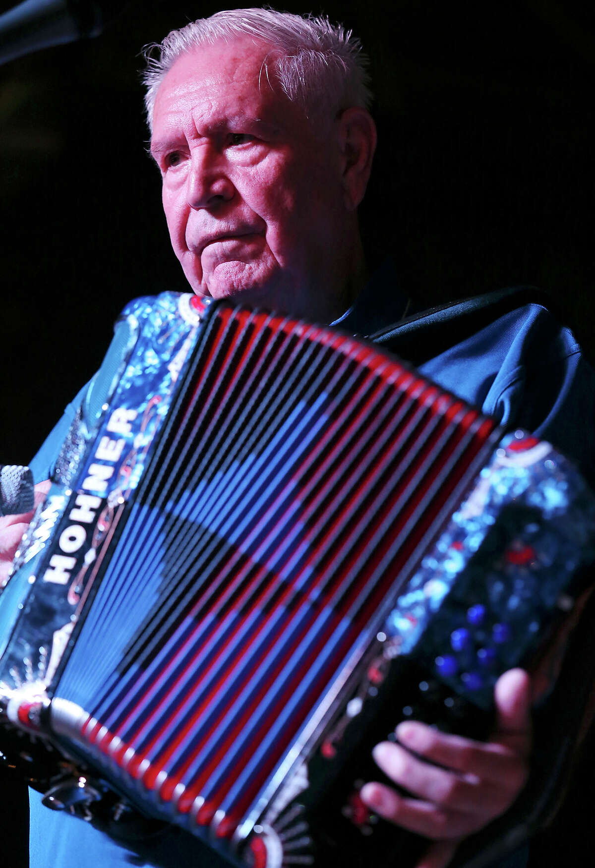 The flagship music event of the Guadalupe Cultural Arts Center opens with its heartwarming and always lively Senior Conjunto Dance at the Guadalupe Theater. This year, it falls to Roger Arocha y su Conjunto to get the feet shuffling. Wednesday's morning event is the warmup for an accordion wars competition at Sam's Burger Joint at 7 p.m. Wednesday. Thursday night is the annual Hall of Fame Gala at the Guadalupe Theater featuring new inductees and the music of Bene Medina (pictured) y Conjunto Aguila.  Dance, 10 a.m. Wednesday, Guadalupe Theater, 1301 Guadalupe St. Free. 210-271-3151, guadalupeculturalarts.org  -- Hector Saldaña