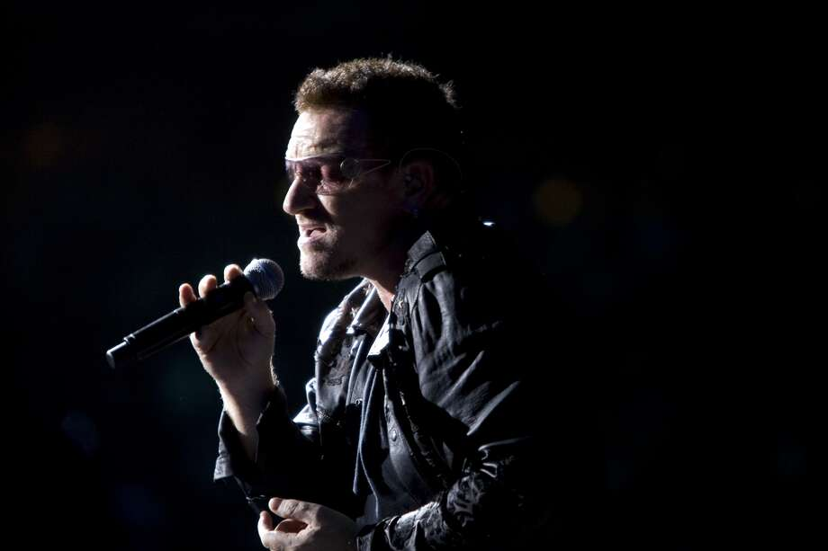 In this photo: Bono performs in Houston in 2009. Photo: Total Guitar Magazine / Getty Images