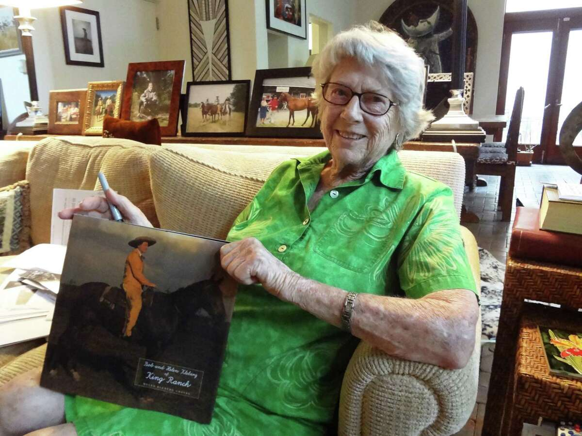 Helen Kleberg Groves, shown in her Alamo Heights home, is the author of