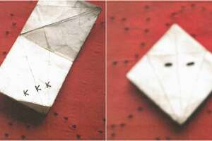 """A lawsuit has been filed by the mother of a Galveston-area private school student given so-called """"KKK origami"""" by school bullies"""
