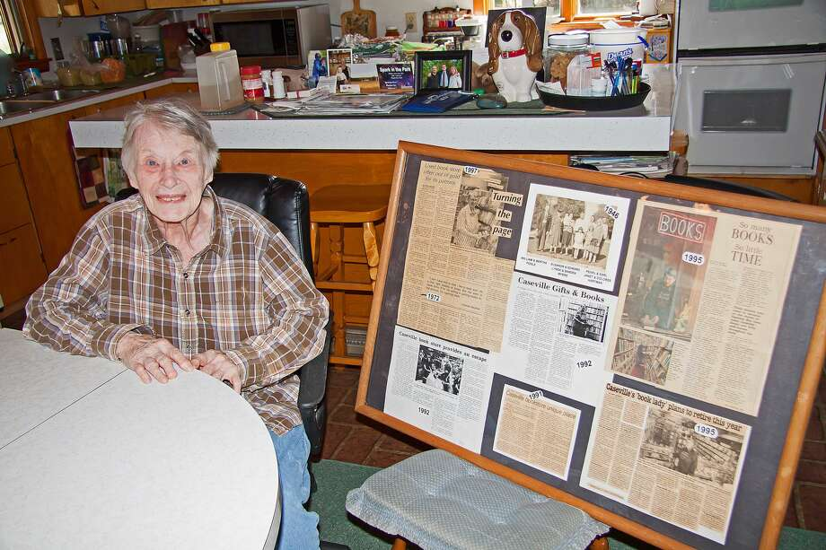 Dolores Hartman owned and operated Caseville Gifts & Books for 45 years in downtown Caseville. Hartman recently retired and the store is under new ownership. Photo: Bill Diller/For The Tribune