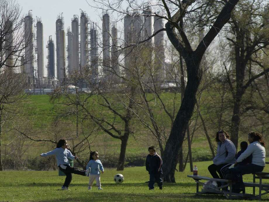 In 2009, Milby Park was removed from the Texas Commission on Environmental Quality's watch list. A new analysis suggests that pollution is spiking here again. Photo: Carlos Antonio Rios, Houston Chronicle / Houston Chronicle