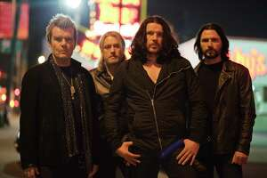 The Cult, from left: Billy Duffy, Chris Wyse, Ian Astbury and John Tempesta