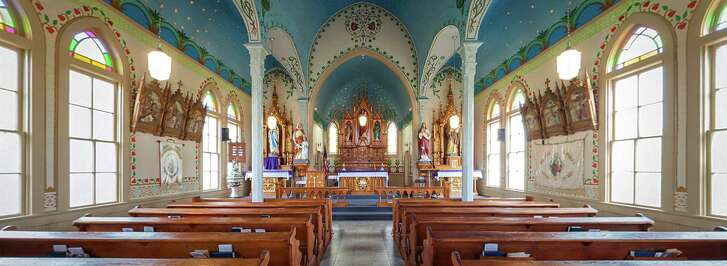 The congregation lovingly restored the Sts. Cyril and Methodius Church in Dubina.
