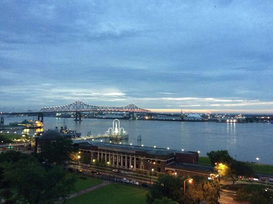 Downtown Baton Rouge sits on the banks of the Mississippi River. Photo: Jody Schmal