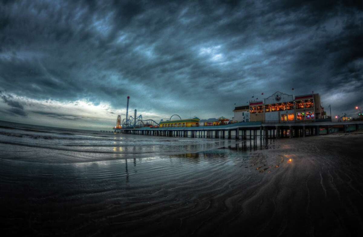 Chronicle reader Nathan Woodruff submitted this picture of Galveston's Pleasure Pier.