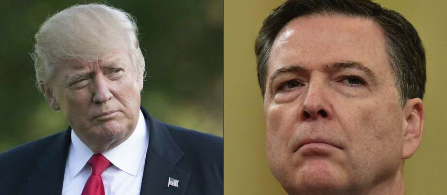 All pretense is gone. In firing FBI Director James Comey, President Trump has launched an assault on a vital federal institution. Photo: SAUL LOEB /AFP /Getty Images / AFP