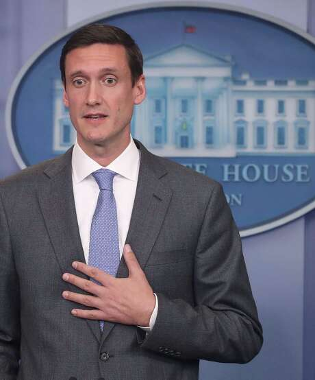 Homeland Security Advisor Tom Bossert speaks about recent cyber attacks during a briefing at the White House, on May 11, 2017. Photo: Mark Wilson /Getty Images / 2017 Getty Images