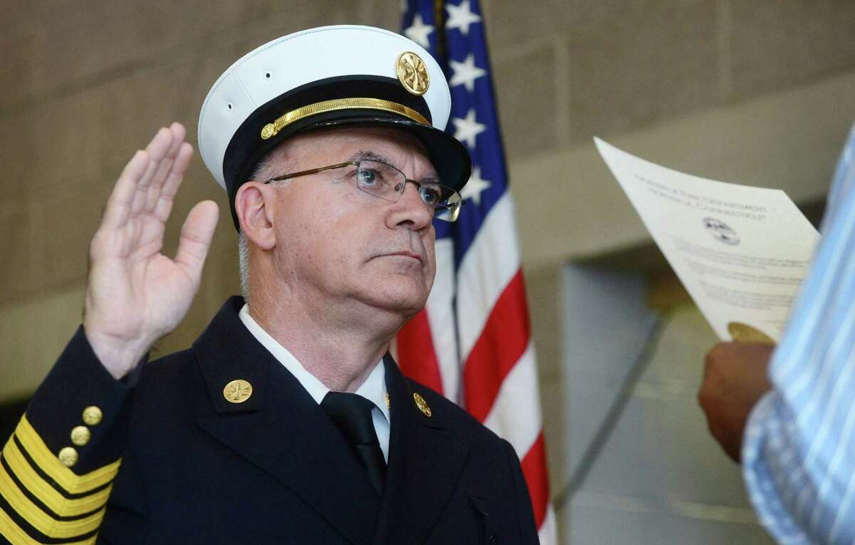 Assistant Chief Gino Gatto has been named acting fire chief.