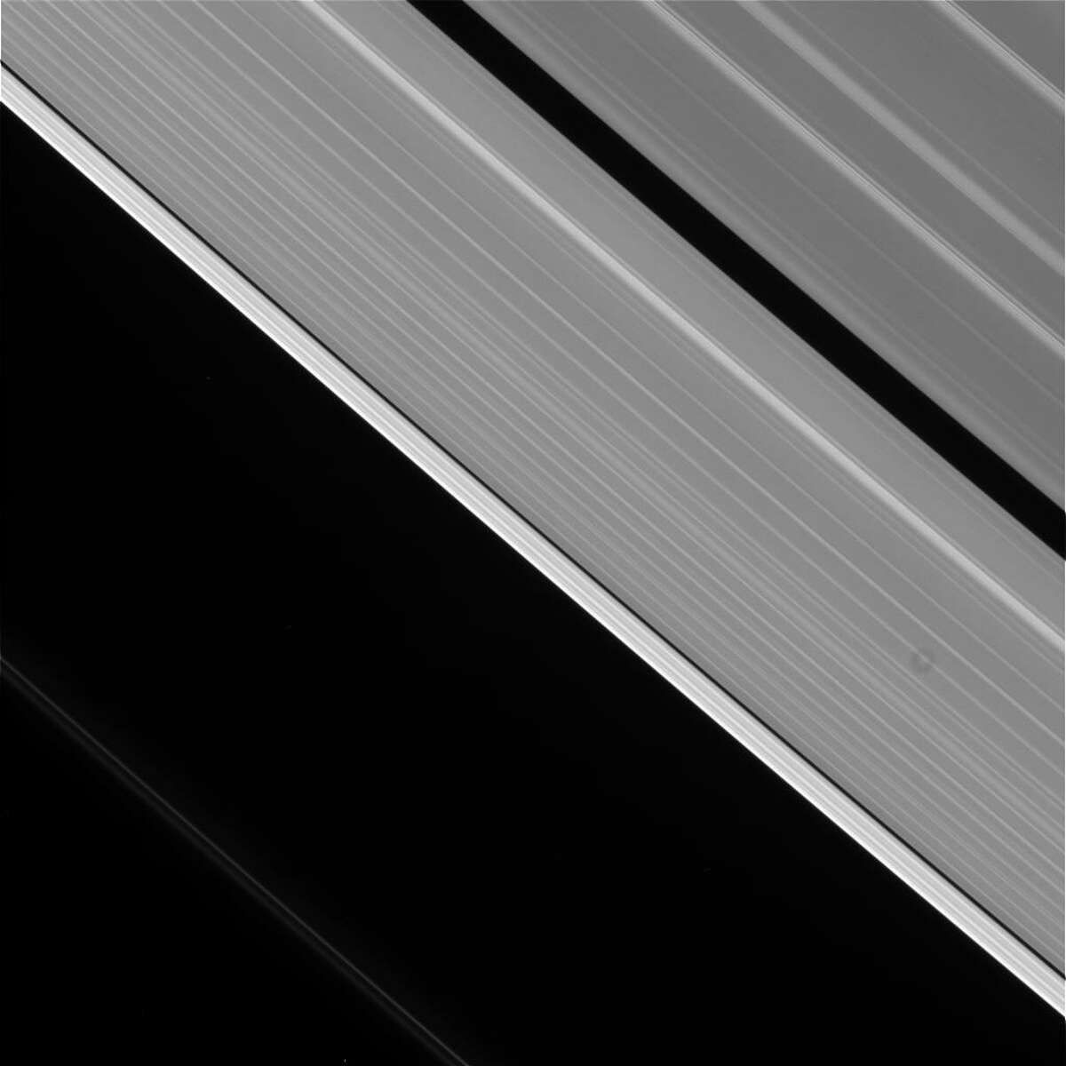 Date: May 15, 2017 Caption: The camera was pointing toward SATURN-RINGS, and the image was taken using the CL1 and CL2 filters. This image has not been validated or calibrated. A validated/calibrated image will be archived with the NASA Planetary Data System.