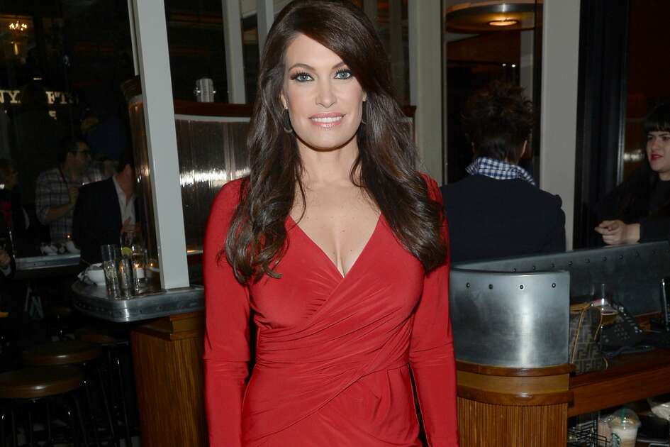 "Kimberly Guilfoyle arrives at the New York special screening of ""Fury"" on Tuesday, Oct. 14, 2014 in New York."
