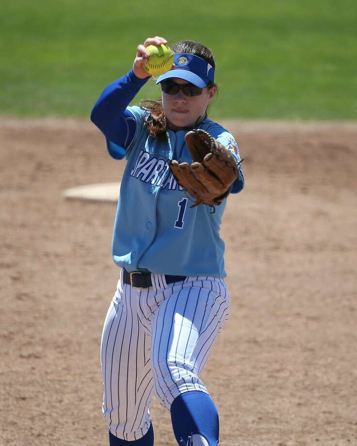 Spartans pitcher Katelyn Linford is expected to start against Cal State Fullerton on Friday. Photo: San Jos� State Athletics/Terrell Lloyd
