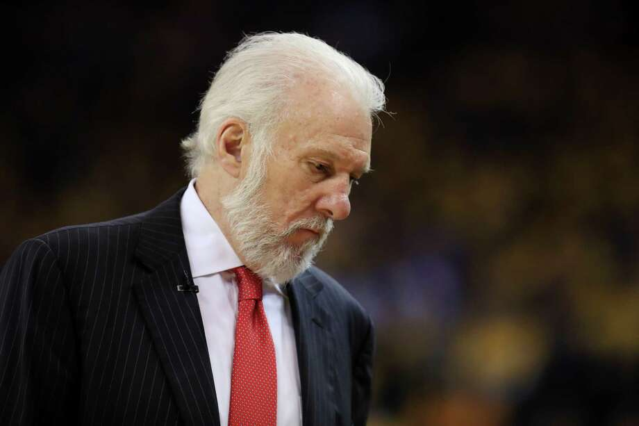 Keep clicking to view Coach Popovich's views on Donald Trump. Photo: Ezra Shaw, Getty Images / 2017 Getty Images