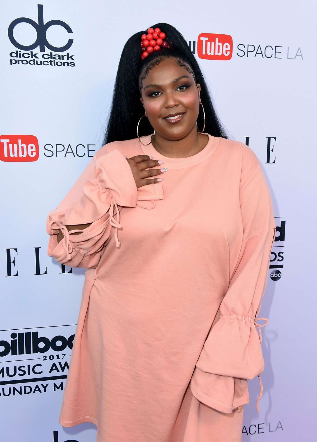 LOS ANGELES, CA - MAY 16: Singer Lizzo attends the '2017 Billboard Music Awards' And ELLE Present Women In Music At YouTube Space LA at YouTube Space LA on May 16, 2017 in Los Angeles, California. (Photo by Vivien Killilea/Getty Images for dick clark productions)