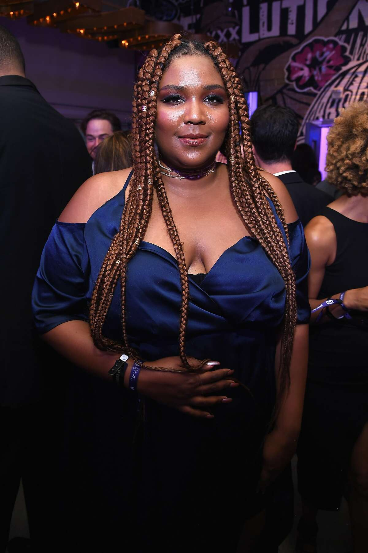 WASHINGTON, DC - APRIL 29: Lizzo attends the Full Frontal With Samantha Bee's Not The White House Correspondents' Dinner After Party at the W Hotel POV Rooftop on April 29, 2017 in Washington, DC. (Photo by Dimitrios Kambouris/Getty Images for TBS)
