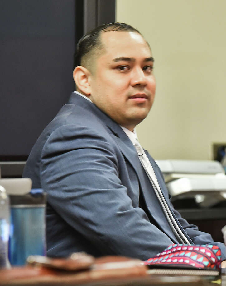 Cristian Yepez waits at the 406th District Courtroom as the defense and prosecution present opening arguments to Judge Oscar Hale on Tuesday, May 16, 2017. Keep clicking through the gallery to see more photos from this case, as well as mugshots of other prominent alleged South Texas criminals. Photo: Danny Zaragoza/Laredo Morning Times