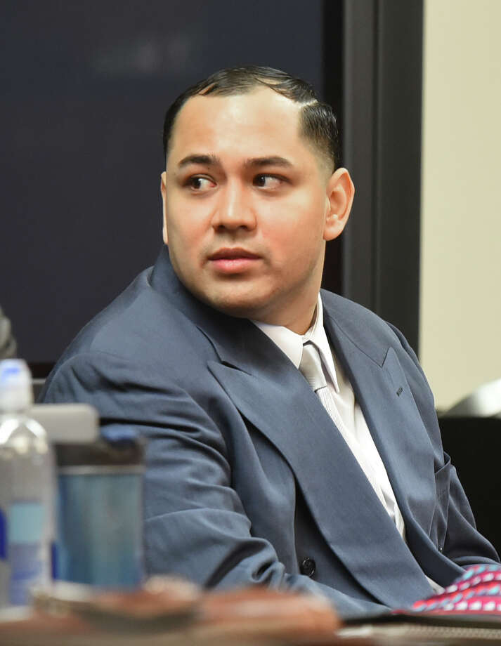 Cristian Yepez waits at the 406th District Courtroom as the defense and prosecution present opening arguments to Judge Oscar Hale on Tuesday, May 16, 2017. Photo: Danny Zaragoza/Laredo Morning Times