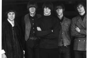 Roger McGuinn (far right) with the Byrds, his influential '60s band. He plays MATCH on Sept. 21.  >> Click through the gallery for other concerts coming to Houston.