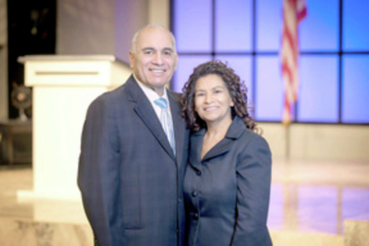 Photo provided Through speech language therapy, and with help from his wife, Inez, Ron Garcia was able to return to doing what he loves as a preacher and minister after suffering from a stroke.