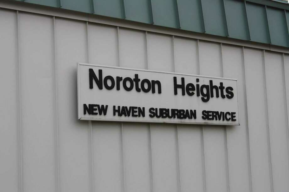 The BOS approved $45,000 to make repairs to the staircases and sidewalks at the Noroton Train Station. Photo: Ben Holbrook / Ben Holbrook / Darien News