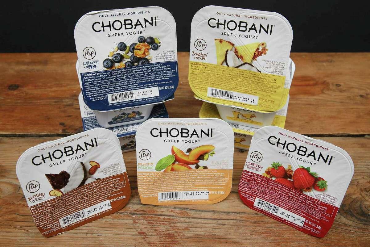 IMAGE DISTRIBUTED FOR CHOBANI - Chobani Flip™ Greek Yogurt. (John Minchillo/AP Images for Chobani) ORG XMIT: CPANY102