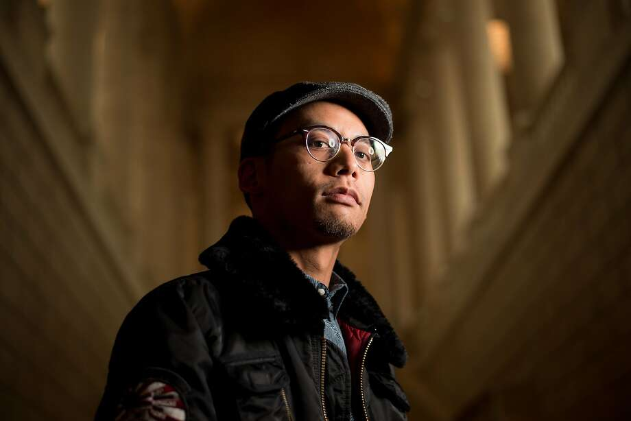 Jeremy Keith Villaluz is the Artists Drawing Club's featured artist on Thursday, May 25. Photo: Noah Berger, Special To The Chronicle