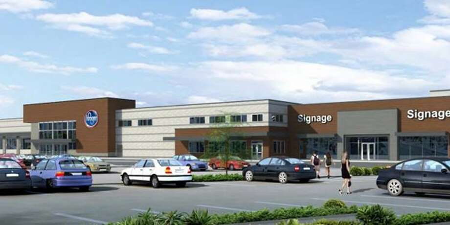 Birnham Woods Marketplace, located at the Grand Parkway and Birnham        Woods Drive in Spring, is nearing completion, with some retailers        opening next month.The new center is anchored by a 125,000-square-foot Kroger Marketplace, which will open Sept. 8. Photo: Capital Retail Properties