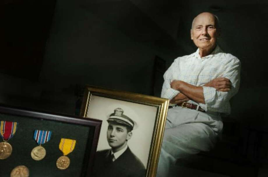 Pearl Harbor veteran  James Benham died Tuesday at his home in Norwalk at age 92. Photo: Kathleen O'Rourke / Stamford Advocate