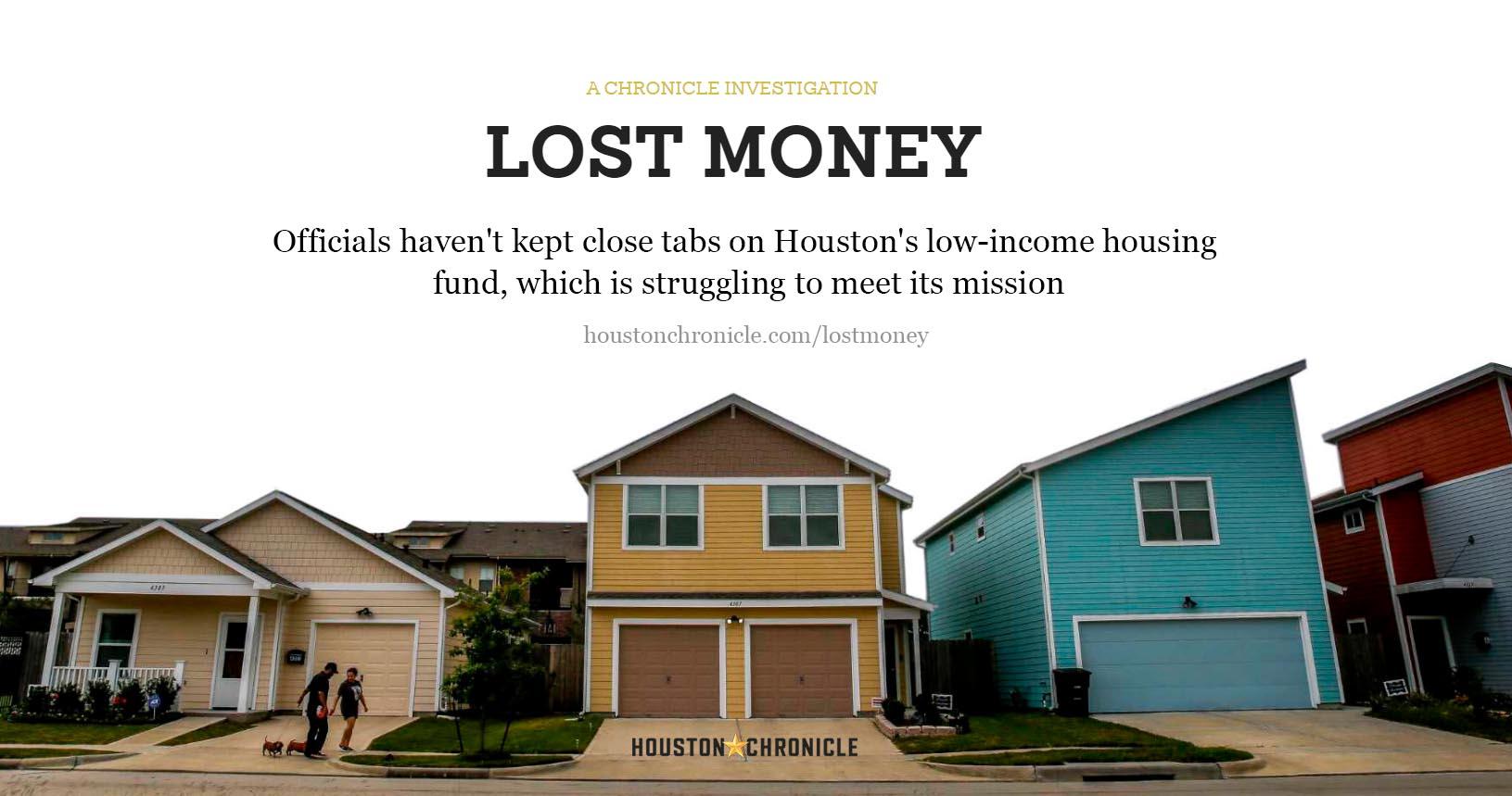 lost money - houston chronicle