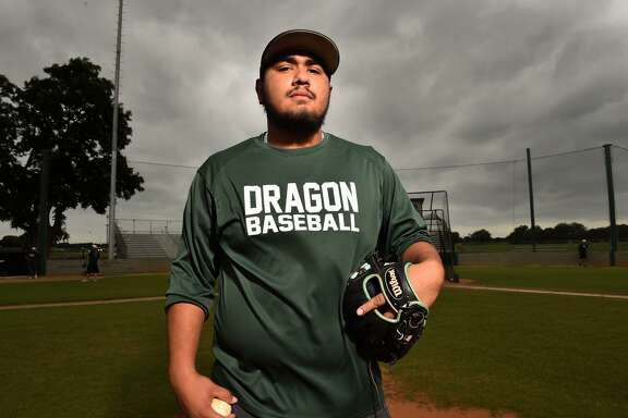 Southwest High School senior Luis Padilla has helped the Dragons to their first appearance in the third round of the playoffs.