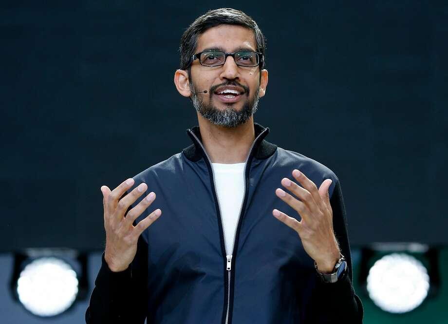 Google CEO Sundar Pichai Photo: Paul Chinn, The Chronicle