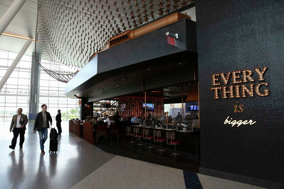 Ember restaurant with a menu from Underbelly chef Chris Shepherd, is among the new Houston-flavored restaurants in the new Terminal C-North at Bush Intercontinental Airport.