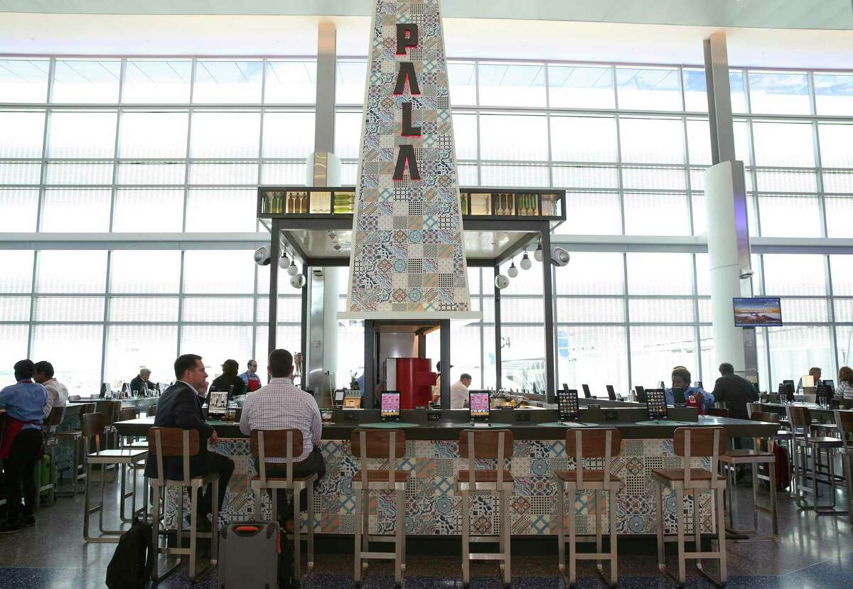 Pala restaurant, with a menu from chef Ryan Pera of Coltivare, is among the new Houston-flavored restaurants in the new Terminal C-North at George Bush Intercontinental Airport.