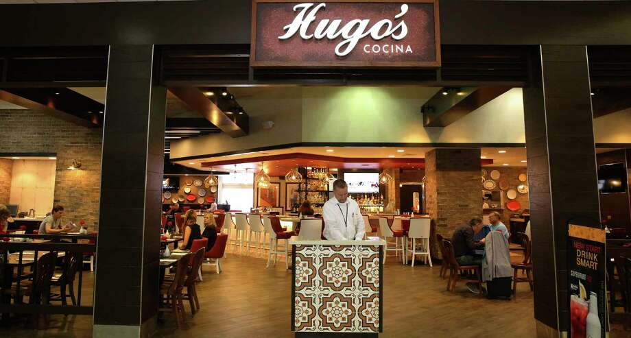 Detail of Hugo's Cocina, a new concession in Terminal D at George Bush Intercontinental Airport. It's an example of IAH's attempts to bring a flavor of Houston to the airport dining experience. Photo: Yi-Chin Lee, Staff / © 2017  Houston Chronicle