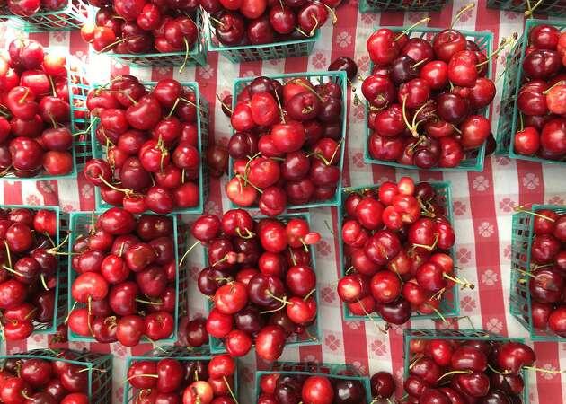 Cherry season arrives in full blush