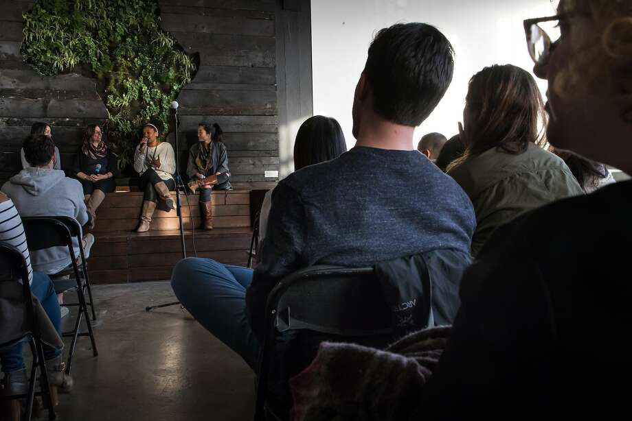 The Wefunder event in Oakland drew more than 100 people to hear the companies' pitches. Photo: Paul Kuroda, Special To The Chronicle